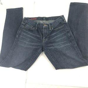 J Crew Womens Straight Leg Strech Hipslung Jeans